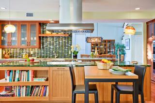 混搭风格酒店公寓艺术厨房餐厅装修效果图