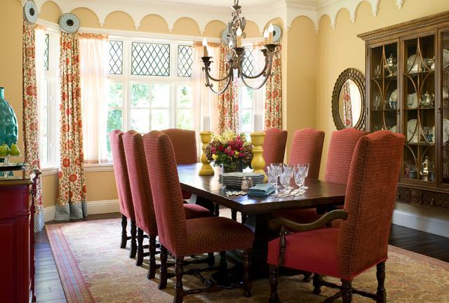 欧式风格一层别墅及新古典卫生间中式餐厅装修效果图