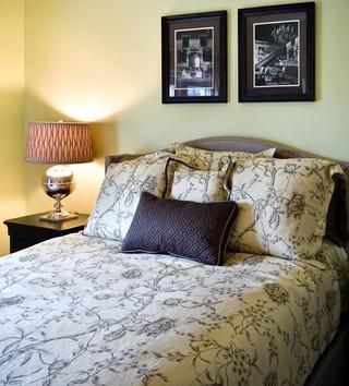 美式风格卧室2013别墅及舒适上下床效果图