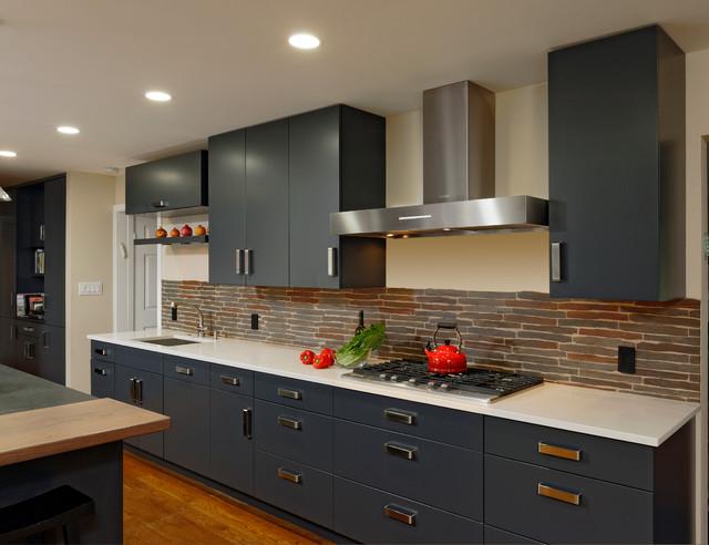 现代美式风格酒店公寓另类卧室2013整体厨房装修效果图