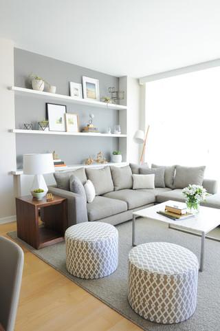 欧式风格家具现代简洁富裕型2013简欧客厅效果图