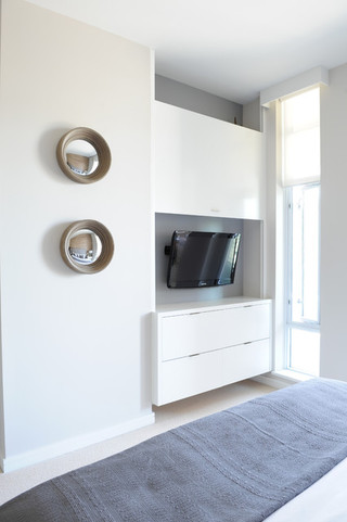 欧式风格简洁富裕型组合电视柜效果图