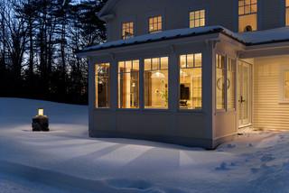爱斯基摩风格小屋 冰雪中的爱巢