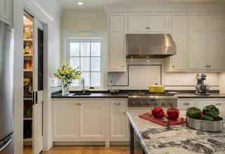 现代简约风格厨房小公寓温馨装饰整体橱柜效果图
