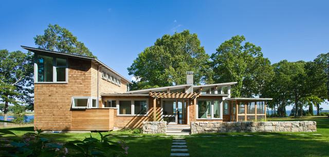 美式乡村风格客厅酒店公寓温馨装饰庭院鱼池设计