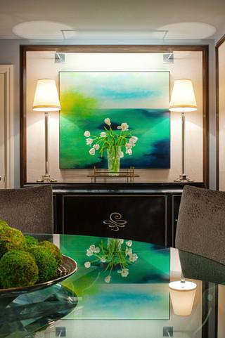 欧式风格卧室单身公寓3d电视背景墙设计