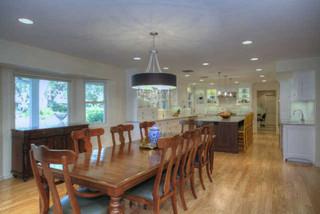 房间欧式风格200平米别墅卧室温馨快餐桌效果图