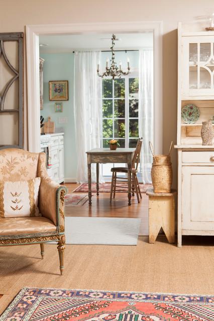 欧式田园风格2层别墅中式古典家具名牌布艺沙发图片