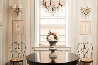 欧式田园风格200平米别墅中式古典风格红木家具餐桌图片