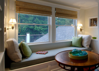简约风格客厅小型公寓舒适外飘窗的设计图