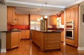 房间欧式风格小型公寓大气整体厨房设计图效果图