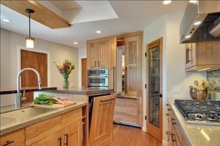 现代简约风格卫生间精装公寓小清新2014厨房吊顶装修效果图