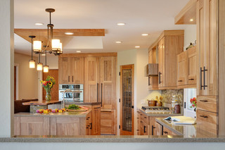 现代简约风格厨房公寓小清新室外灯具效果图