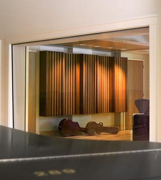 欧式风格客厅三层别墅古典客厅客厅阳台窗帘图片