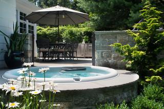 现代简约风格厨房200平米别墅小清新别墅游泳池装修效果图