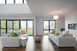 现代简约风格卫生间小型公寓时尚家居客厅沙发改造