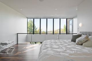现代简约风格客厅单身公寓设计图时尚简约客厅卧室榻榻米床效果图