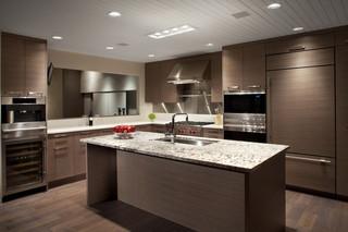 现代欧式风格三层独栋别墅古典中式2014家装厨房设计