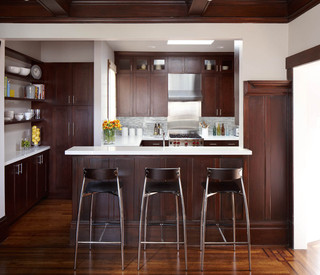 欧式风格家具200平米别墅新古典主2014整体厨房效果图