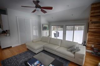北欧风格公寓唯美懒人沙发效果图