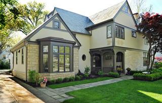 现代欧式风格2013别墅及现代简洁家庭庭院装修效果图