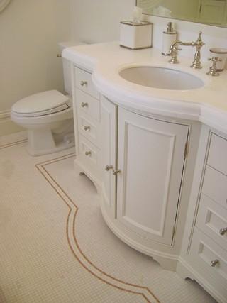 美式风格客厅三层别墅及大气品牌浴室柜效果图