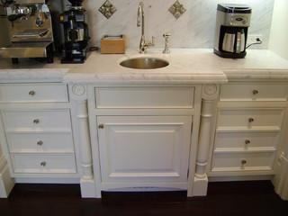美式风格卧室一层半小别墅大气浴室柜效果图