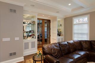 欧式风格一层半别墅唯美品牌布艺沙发图片