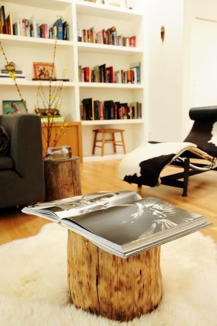 混搭风格三层小别墅小清新白色地毯效果图