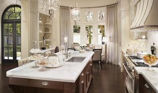 现代欧式风格浪漫卧室2014家装厨房红木餐桌效果图