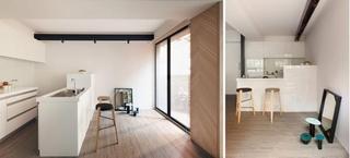 台湾小户型木质现代公寓