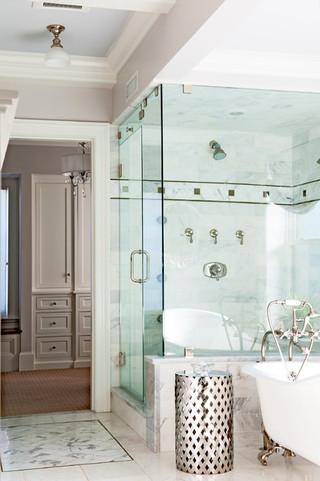 房间欧式风格酒店式公寓温馨品牌整体淋浴房设计图