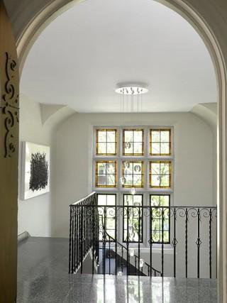 现代简约风格卧室200平米别墅艺术阳台窗户效果图