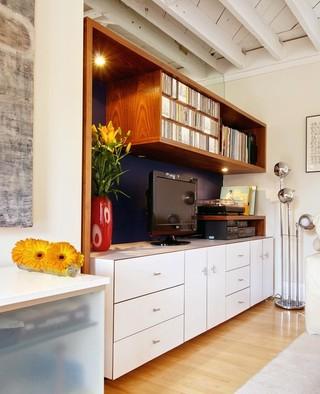 现代简约风格卫生间一层别墅及浪漫婚房布置橱柜订做