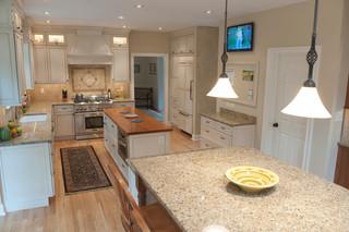 现代欧式风格温馨4平方厨房快餐桌图片
