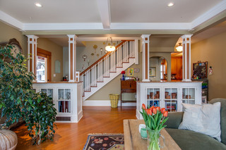 欧式风格卧室三层连体别墅温馨装饰懒人沙发效果图