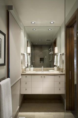 现代简约风格客厅3层别墅奢华家具品牌浴室柜图片
