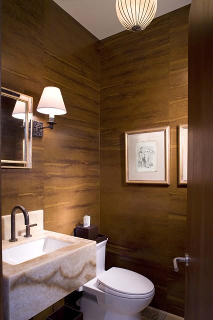 现代简约风格厨房一层半别墅欧式奢华嵌入式浴缸效果图