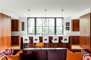 现代简约风格卧室一层别墅低调奢华懒人沙发图片