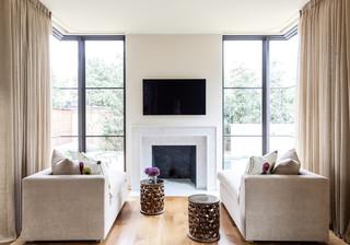 现代简约风格卧室三层别墅及欧式奢华懒人沙发效果图