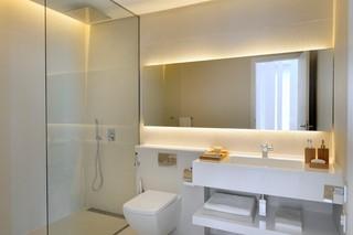 现代简约风格卧室精装公寓艺术家具卧室梳妆台效果图