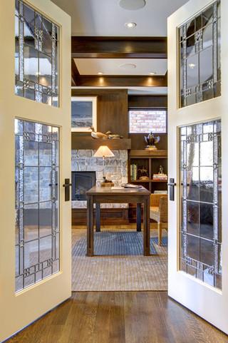 单身公寓厨房奢华家具客厅过道装修效果图