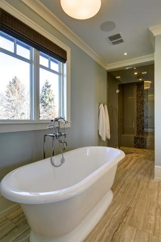 酒店公寓奢华独立式浴缸效果图