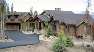 新古典风格三层小别墅大气家庭庭院装修效果图