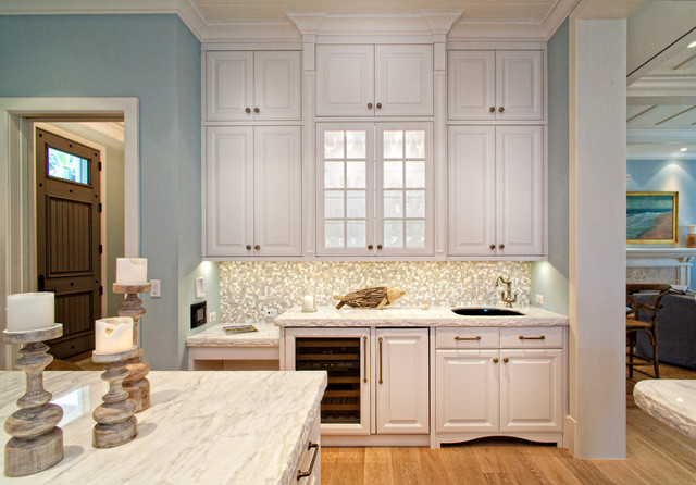 简洁卧室白色橱柜开放式厨房餐厅橱柜定制