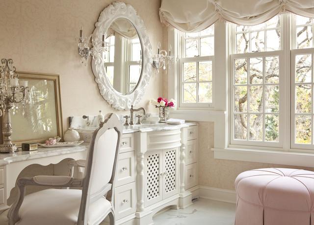 欧式田园风格复式公寓白色简约装修效果图