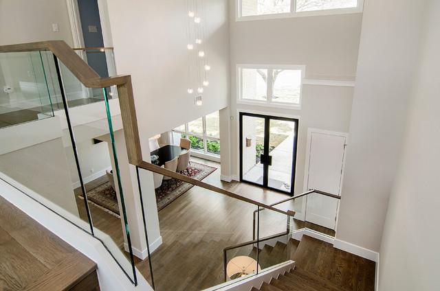 简约风格复式公寓简约时尚室外楼梯装修图片