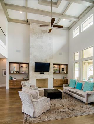 简约风格电视背景墙酒店式公寓时尚家具实木沙发图片