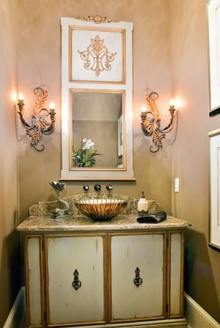 客厅古典开放式厨房一体式台盆图片