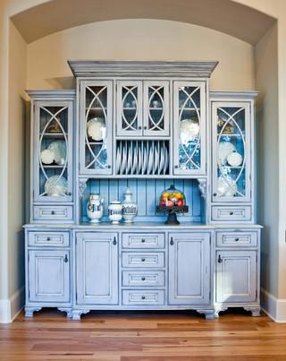 梦幻家具蓝色卧室开放式厨房客厅橱柜设计图纸